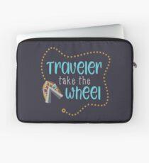 Traveler Take the Wheel Laptop Sleeve