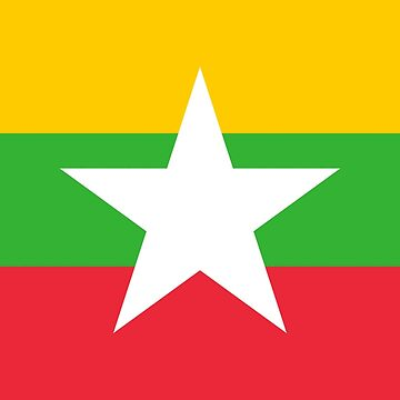Myanmar - National Flag - Current by CrankyOldDude