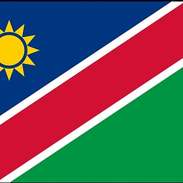 Namibia - National Flag - Current by CrankyOldDude