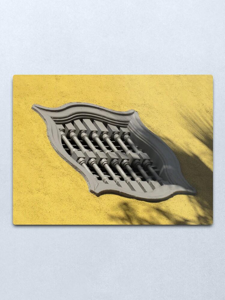 Alternate view of Magic Window Metal Print