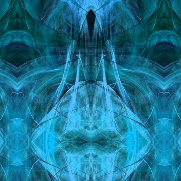 Ascending Spirit Esoteric Abstract Designer Fashion by redwindy