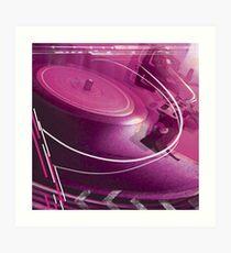 Turntable Art Print