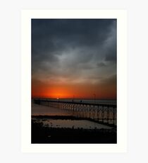 Ceduna Sunset Art Print
