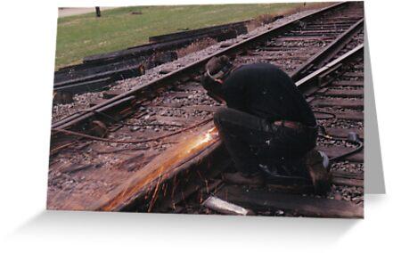 Welding Tracks by ElfJoyRosser