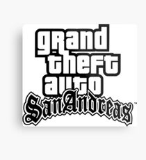 GTA San Andreas Metal Print
