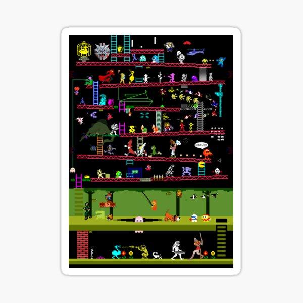 50 Video Game Classics Sticker