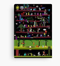 50 Video Game Classics Canvas Print