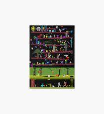 Lámina de exposición 50 videojuegos clásicos