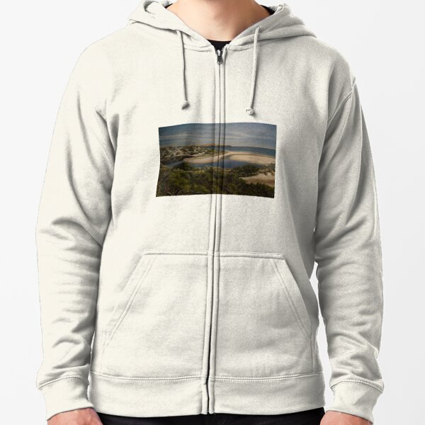 Normanville - South Australia - Fleurieu Peninsula - original work - oil on canvas by Avril Thomas Zipped Hoodie
