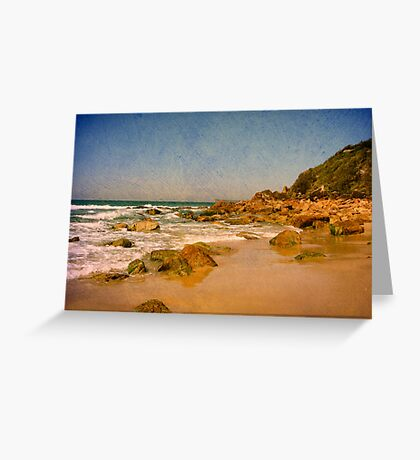 Sharkies Beach Greeting Card