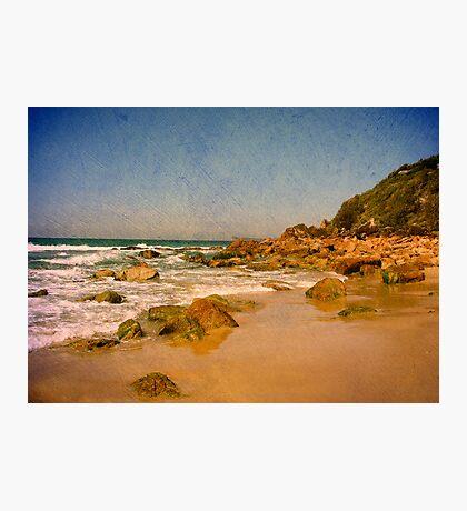 Sharkies Beach Photographic Print