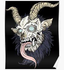 krampus evil tattoo Poster