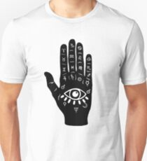 Palmistry Hand  Unisex T-Shirt