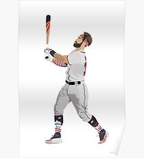 Bryce Harper Home Run Derby Poster