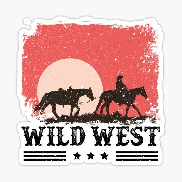 Wild West  Sticker