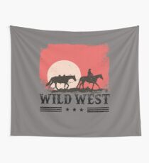 Wild West  Wall Tapestry