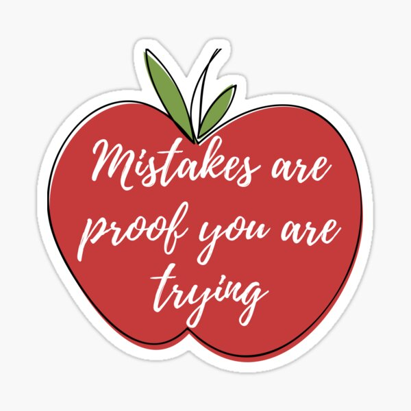 Teacher - Growth Mindset Sticker