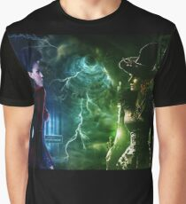 Once Upon a Time - Regina vs Zelena Graphic T-Shirt