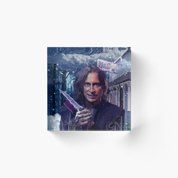 Once Upon a Time - Rumple Acrylic Block