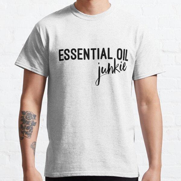 huile essentielle Je cours sur le café et huiles essentielles T-shirt huile essentielle vendeur