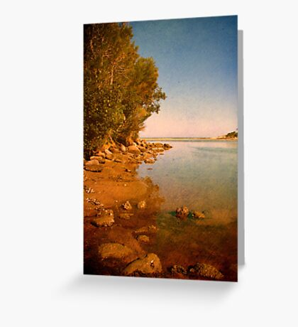 Where the Lake meets the Sea Greeting Card