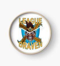 League of Draven Clock