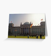 The Reichstag Greeting Card
