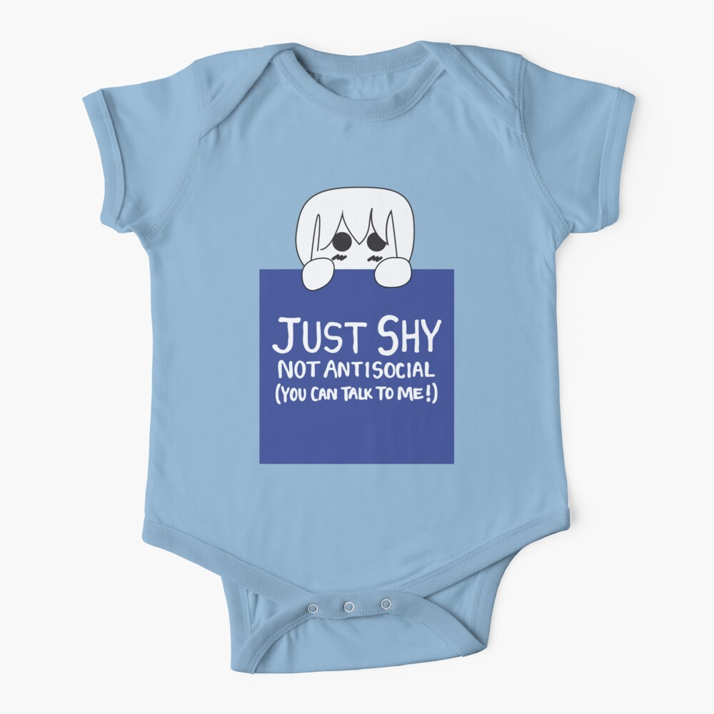 Just Shy, not Antisocial Baby One-Piece