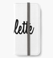 Hey Charlette buy this now iPhone Wallet/Case/Skin
