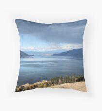 Lake Okanagan BC Canada Throw Pillow