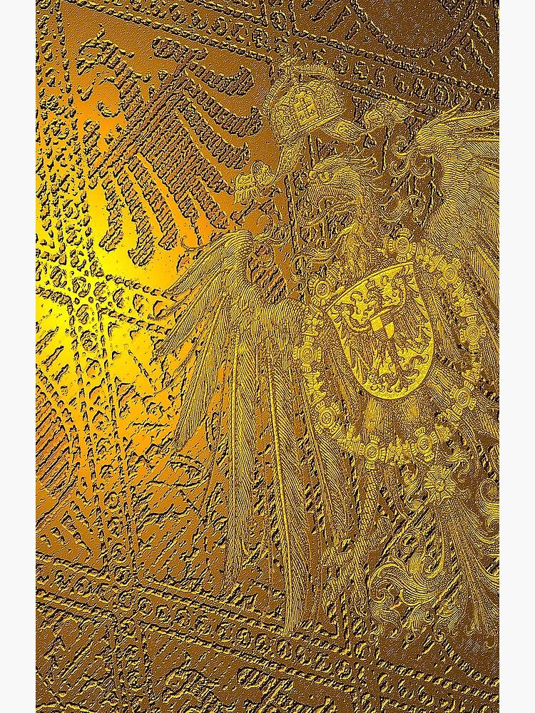 1888 Imperial German Eagle  by edsimoneit