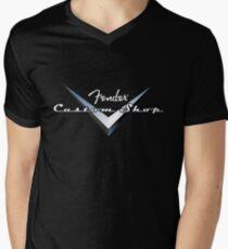 Fender Custom Shop Men's V-Neck T-Shirt