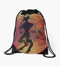 Send Mind to Quasiplex Album Artwork Drawstring Bag