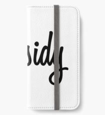 Hey Chasidy buy this now iPhone Wallet/Case/Skin