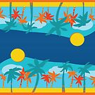 Lifeguard Towel by kylacovert