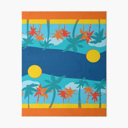 Lifeguard Towel Art Board Print