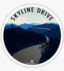 Skyline Drive - Shenandoah National Park Sticker