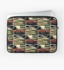 Cadillac and Motorcycle Customized by Tarso Marques Laptop Sleeve
