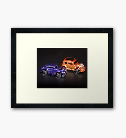 Proud car owner Framed Print
