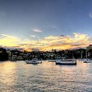 Twilight - Lavender Bay, Sydney Harbour - The HDR Experience by Philip Johnson
