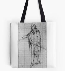 "Study for ""The Surrender of the Dutch Admiral De Winter to Admiral Duncan, October 11, 1797"": Lord Admiral Duncan Tote Bag"