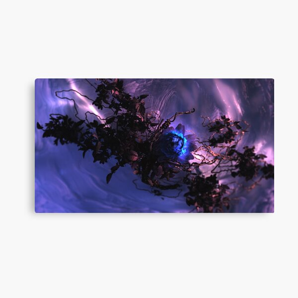 The Winter Rose Canvas Print