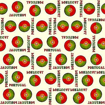 Portugal flag pattern by gavila