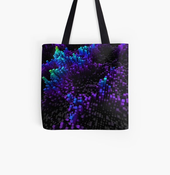 Rectilinea All Over Print Tote Bag
