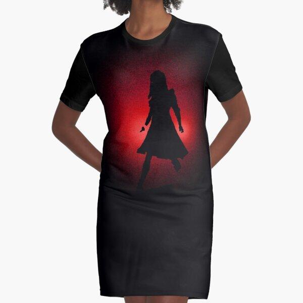 I Love You Graphic T-Shirt Dress