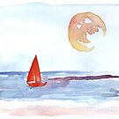 Red Sail Red Moon by RavensLanding