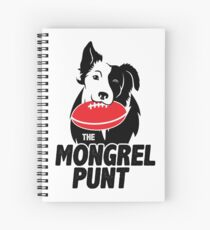 The Mongrel Punt Spiral Notebook