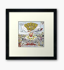 Green Day Dookie Album Cover Framed Print
