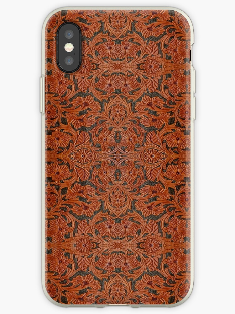 Leather Works iPhone / Samsung Galaxy Case by Tucoshoppe