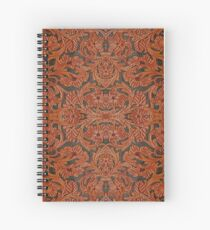 Leather Works Spiral Notebook